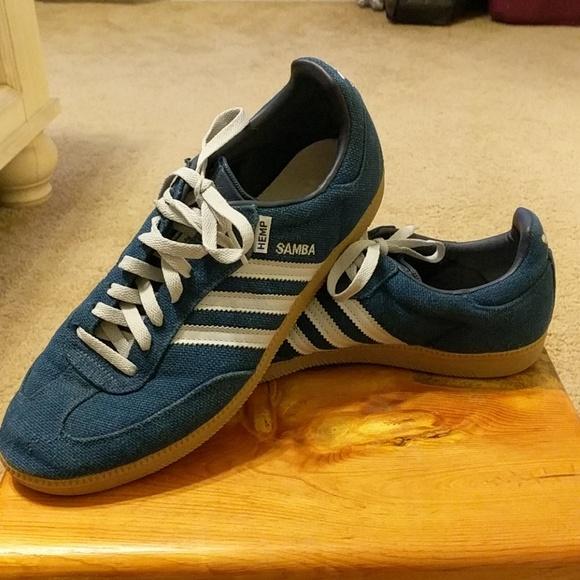 adidas Samba Hemp Shoes | Athletic in 2019 | Samba shoes